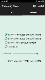 Bangla Talking Clock Ad free v59.7.6 screenshots 2