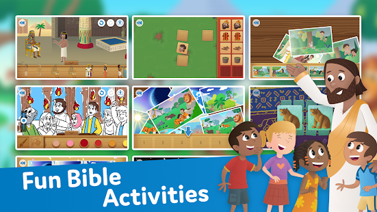Bible App for Kids Audio amp Interactive Stories v2.34 screenshots 8