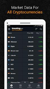 Bitcoin Ethereum IOTA Ripple Price Crypto News v2.5 screenshots 1