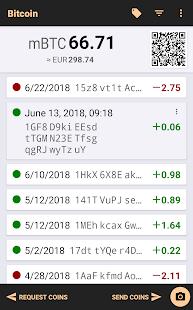 Bitcoin Wallet v screenshots 1