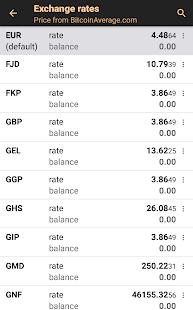 Bitcoin Wallet v screenshots 4