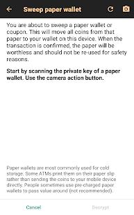 Bitcoin Wallet v screenshots 5
