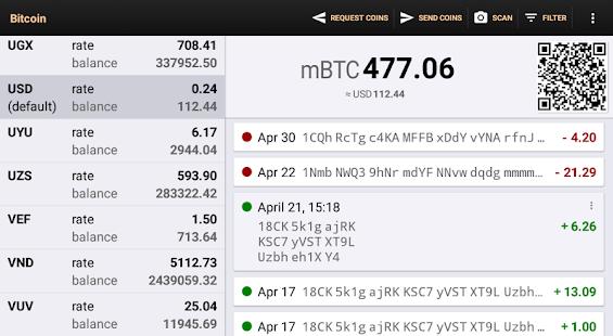 Bitcoin Wallet v screenshots 9