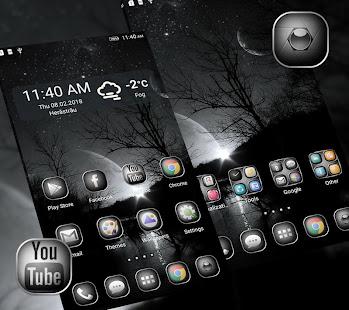 BlackampWhite Launcher Theme v1.296.1.180 screenshots 3