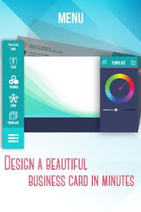 Business Card Maker amp Creator v2.3.6 screenshots 1