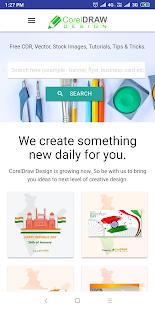 CorelDraw Design Free CDR templates v1.3 screenshots 2