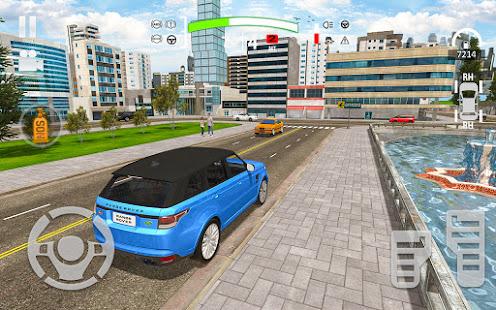 Crazy Car Driving amp City Stunts Rover Sport v1.18 screenshots 3