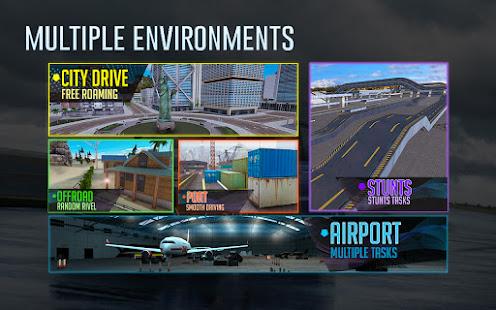 Crazy Car Driving amp City Stunts Rover Sport v1.18 screenshots 4