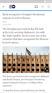 DW – Breaking World News v2.6.9 screenshots 4
