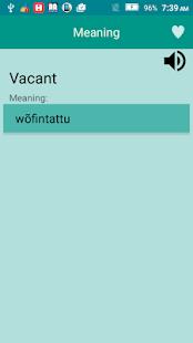 English to Hausa Dictionary v1.7 screenshots 3