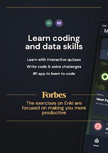 Enki Learn data science coding tech skills v2.6.2 screenshots 9