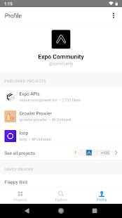 Expo v2.21.5 screenshots 1