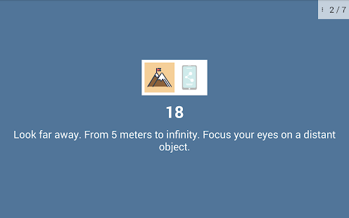 Eye exercises v1.4 screenshots 23