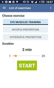 Eye exercises v1.4 screenshots 4