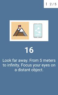 Eye exercises v1.4 screenshots 7