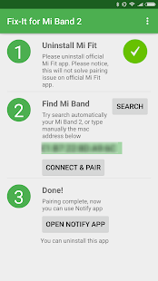 Fix-it for Mi Band 2 v4.0 screenshots 3
