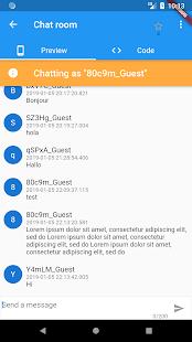 Flutter Catalog with source code side-by-side v3.0.0 screenshots 5