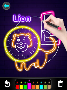 Glitter Number and letters coloring Book for kids v4.0 screenshots 12