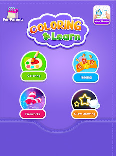 Glitter Number and letters coloring Book for kids v4.0 screenshots 16