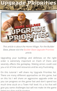 Guide for Clash of Clans CoC v3.0.03 screenshots 8