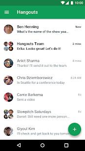 Hangouts v39.0.382346130 screenshots 1