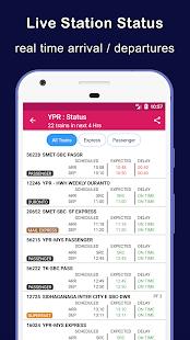 Indian Railway Train Status Where is my Train v11.04 screenshots 5