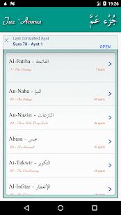 Juz Amma Suras of Quran v2.2.2 screenshots 1