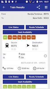 Location of my train Live Train Status v1.35 screenshots 19