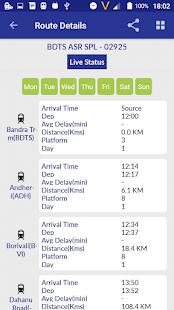 Location of my train Live Train Status v1.35 screenshots 21