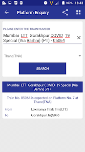 Location of my train Live Train Status v1.35 screenshots 23