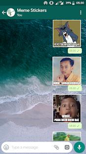 MEME Indonesia WA Stickers v1.0 screenshots 3
