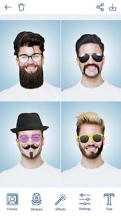 Man Hairstyles Photo Editor v1.8.8 screenshots 1