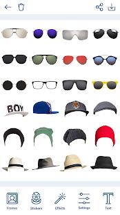 Man Hairstyles Photo Editor v1.8.8 screenshots 15