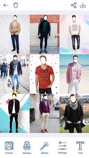 Man Hairstyles Photo Editor v1.8.8 screenshots 3