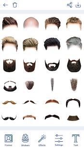 Man Hairstyles Photo Editor v1.8.8 screenshots 7