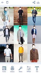 Man Hairstyles Photo Editor v1.8.8 screenshots 9