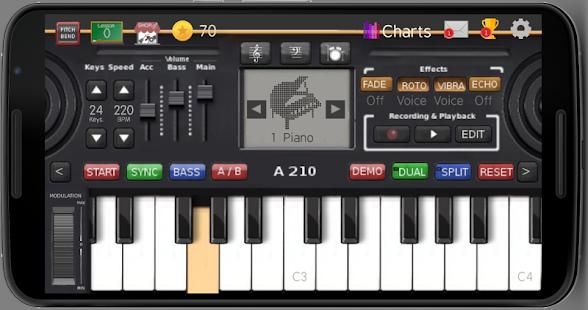Music Keyboard v10.71 screenshots 1