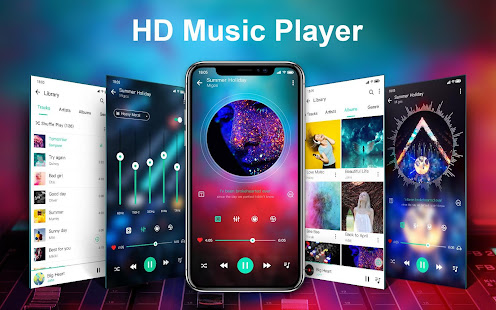 Music player amp Video player with equalizer v1.2.2 screenshots 1
