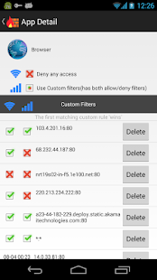 NoRoot Firewall v4.0.2 screenshots 2