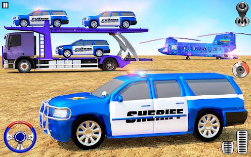 Offroad Police Transporter Truck 2021 v1.0.32 screenshots 6