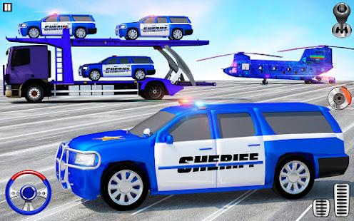Offroad Police Transporter Truck 2021 v1.0.32 screenshots 9