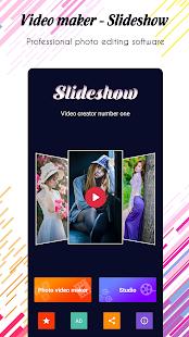 Photo video maker v screenshots 1