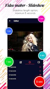 Photo video maker v screenshots 13