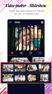 Photo video maker v screenshots 16
