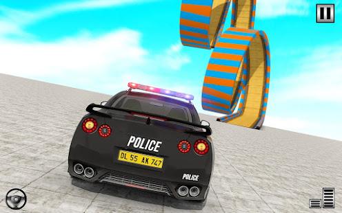 Police Mega Ramp – Car Stunts Games v1.15 screenshots 1