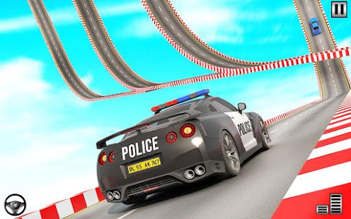 Police Mega Ramp – Car Stunts Games v1.15 screenshots 10