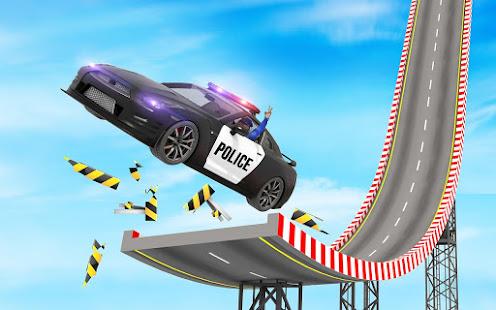 Police Mega Ramp – Car Stunts Games v1.15 screenshots 16