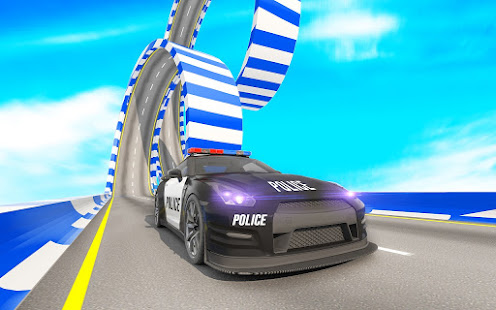 Police Mega Ramp – Car Stunts Games v1.15 screenshots 18