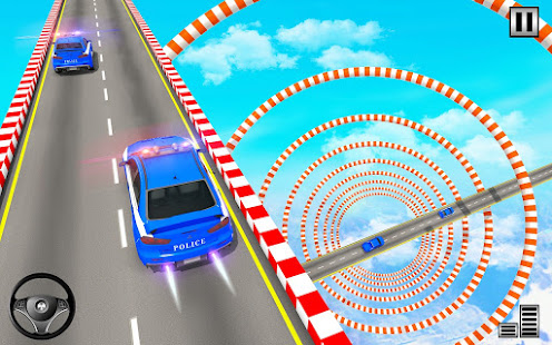 Police Mega Ramp – Car Stunts Games v1.15 screenshots 20