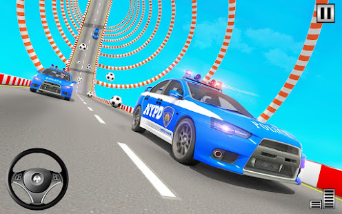 Police Mega Ramp – Car Stunts Games v1.15 screenshots 21